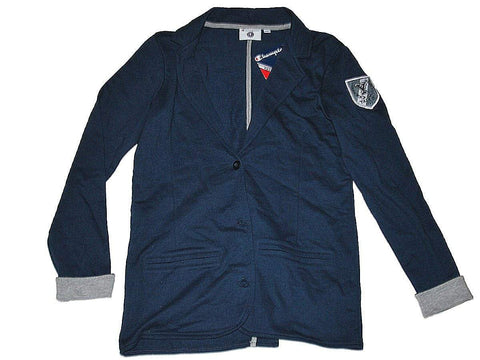 Shop Yale Bulldogs Champion Women Navy 3 Button Blazer Jacket (M)