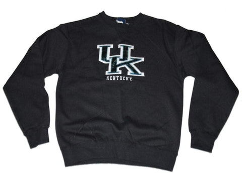 Kentucky Wildcats Gear for Sports Women Black Foil Letters Sweatshirt (S)