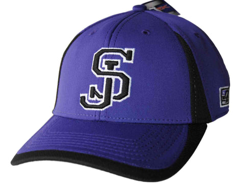 Shop San Jose State Spartans The Game Purple Softball Adjustable Structured Hat Cap - Sporting Up
