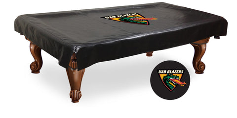 UAB Blazers HBS Black Vinyl Billiard Pool Table Cover