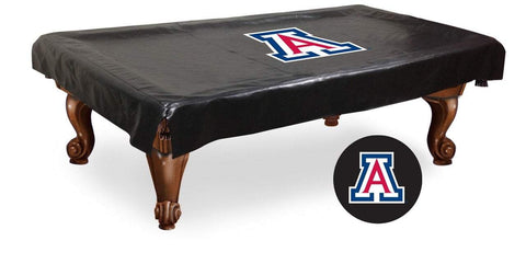 Arizona Wildcats HBS Black Vinyl Billiard Pool Table Cover