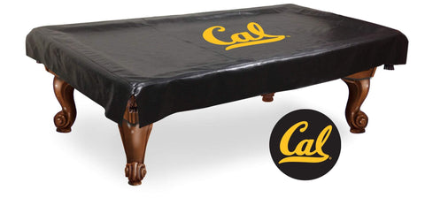 California Golden Bears HBS Black Vinyl Billiard Pool Table Cover
