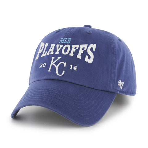 Shop Kansas City Royals 47 Brand 2014 Postseason Playoffs Relax Adjustable Hat Cap