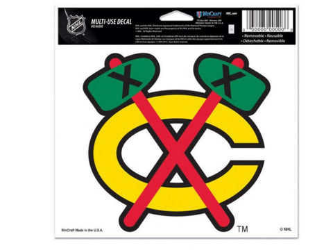 Shop Chicago Blackhawks NHL WinCraft Sports Removable Bumper Sticker Ultra Decal