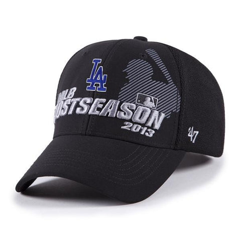 Shop Los Angeles Dodgers 2013 MLB Playoffs Locker Room 47 Brand Adjustable Hat Cap