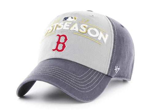 Boston Red Sox 47 Brand 2017 Postseason Locker Room MLB Playoffs Adj Hat Cap