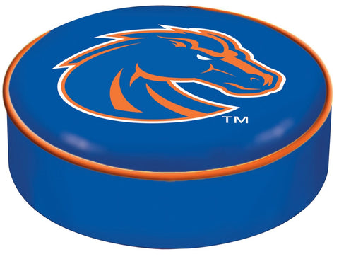 Shop Boise State Broncos HBS Blue Vinyl Slip Over Bar Stool Seat Cushion Cover