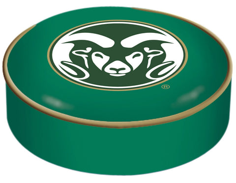 Colorado State Rams HBS Green Vinyl Slip Over Bar Stool Seat Cushion Cover