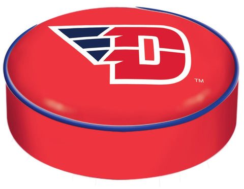 Dayton Flyers HBS Red Vinyl Elastic Slip Over Bar Stool Seat Cushion Cover