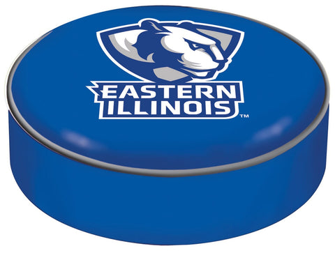 Eastern Illinois Panthers HBS Blue Vinyl Slip Over Bar Stool Seat Cushion Cover