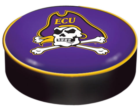 Shop East Carolina Pirates HBS Purple Vinyl Slip Over Bar Stool Seat Cushion Cover - Sporting Up