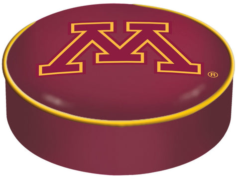 Minnesota Golden Gophers HBS Red Vinyl Slip Over Bar Stool Seat Cushion Cover - Sporting Up