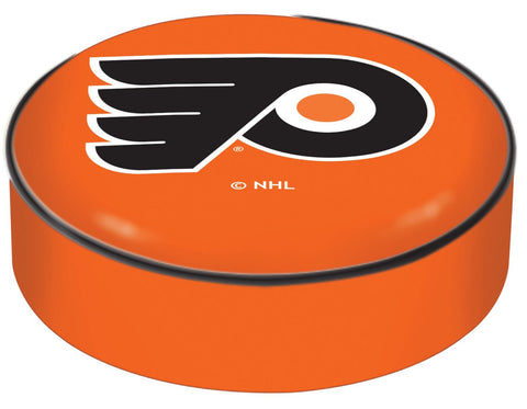 Philadelphia Flyers HBS Orange Vinyl Slip Over Bar Stool Seat Cushion Cover