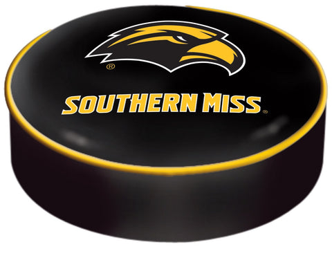 Shop Southern Miss Golden Eagles HBS Black Slip Over Bar Stool Seat Cushion Cover - Sporting Up