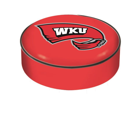 Western Kentucky Hilltoppers HBS Red Slip Over Bar Stool Seat Cushion Cover