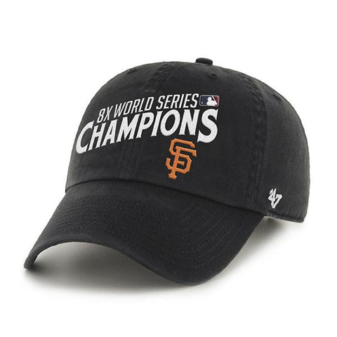 Shop San Francisco Giants 47 Brand 8 Times World Series Champions Adjustable Hat Cap