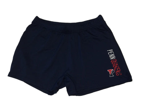 Shop Pennsylvania Quakers Badger Sport WOMENS Navy Fitted Compression Shorts (M) - Sporting Up