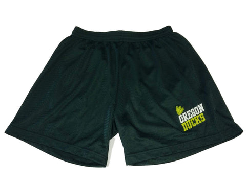 Oregon Ducks Badger Sport WOMENS Green Mesh Drawstring Athletic Shorts (M)