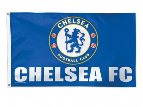 Shop Chelsea FC WinCraft Sports Blue White Deluxe Indoor Outdoor Flag (3' x 5')