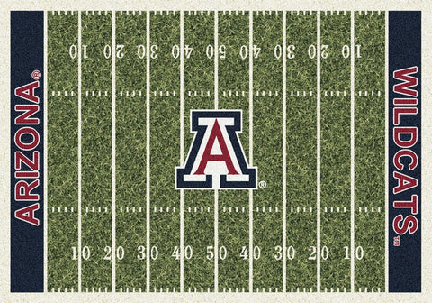 Arizona Wildcats Milliken Football Home Field Novelty Area Rug
