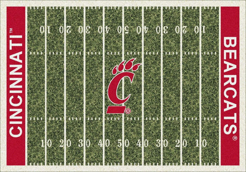Cincinnati Bearcats Milliken Football Home Field Novelty Area Rug