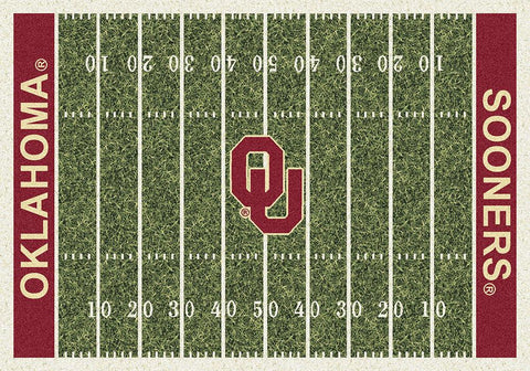 Oklahoma Sooners Milliken Football Home Field Novelty Area Rug - Sporting Up