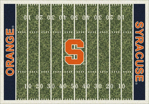 Syracuse Orange Milliken Football Home Field Novelty Area Rug