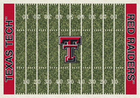 Texas Tech Red Raiders Milliken Football Home Field Novelty Area Rug