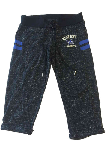 University of Kentucky Colosseum Black & White Speckled WOMENS Capri Pants (M)