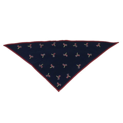 St. Louis Cardinals Sporty Paws K9 Navy & Red Dog Canine Bandana (S)