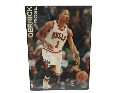 "Shop Chicago Bulls Mounted Memories Derrick Rose Graphic Wood Sign (4.5"" x 6"")"