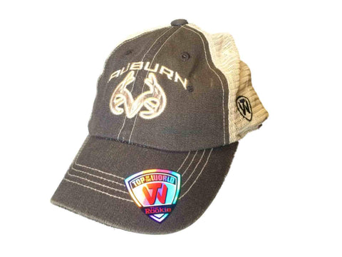 Shop Auburn Tigers TOW YOUTH Rookie Camo Antler Logo Roughage Snapback Mesh Hat Cap