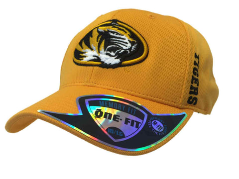 Missouri Tigers TOW Yellow Gold Structured Memory Flexfit Hat Cap (M/L)