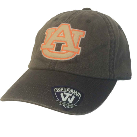 Shop Auburn Tigers TOW Faded Demin Dispatch Style Adjustable Strapback Slouch Hat Cap