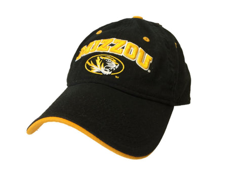 Missouri Tigers The Game Black & Gold Adjustable Strapback Relax Slouch Hat Cap
