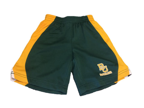 Shop Baylor Bears Colosseum TODDLER Green Yellow Athletic Performance Shorts (3T)
