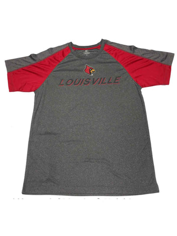 Shop Louisville Cardinals Colosseum Gray & Red Performance Short Sleeve T-Shirt (L) - Sporting Up