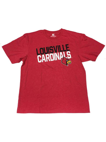 Shop Louisville Cardinals Colosseum Red Black & White Short Sleeve Crew T-Shirt (L) - Sporting Up