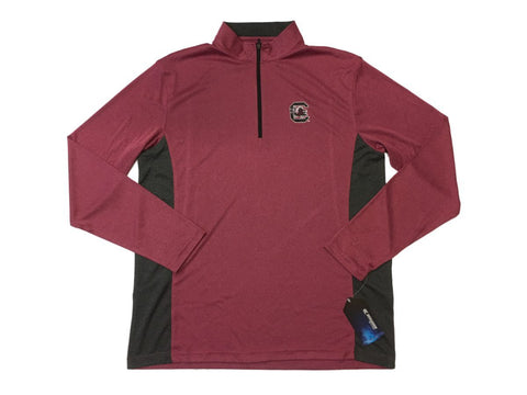 Shop South Carolina Gamecocks Colosseum Faded Garnet 1/4 Zip Performance Pullover (L)