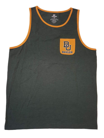 Shop Baylor Bears Colosseum Green with Yellow Pocket Sleeveless Tank Top (L)