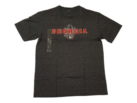 Georgia Bulldogs Concepts Sport Charcoal Gray Static SS Crew T-Shirt (L)