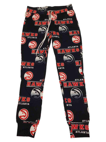 Atlanta Hawks Concepts Sport WOMEN'S Navy Drawstring Tapered Pajama Pants (M)
