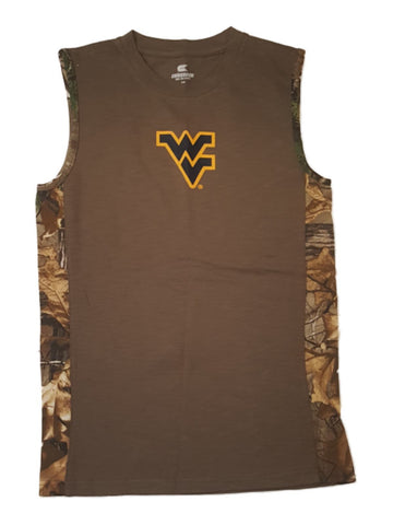 West Virginia Mountaineers Colosseum YOUTH Boy's Realtree Tank Top 12-14 (M)