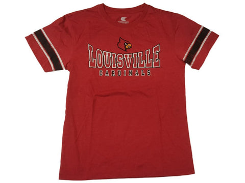 Shop Louisville Cardinals Colosseum YOUTH Boy's Red Short Sleeve T-Shirt 16-18 (L)