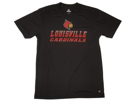Shop Louisville Cardinals Colosseum YOUTH Boys Black Performance SS T-Shirt 16-18 (L)