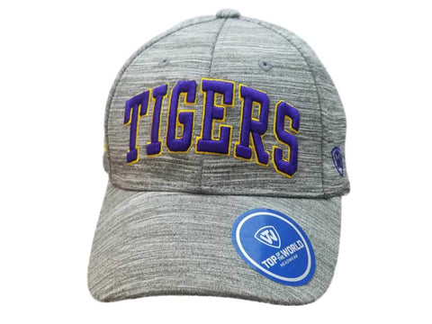 "Shop LSU Tigers TOW Gray ""So Fresh"" Style Structured Adjustable Strap Hat Cap"