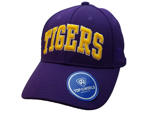 "Shop LSU Tigers TOW Purple & Yellow ""So Clean"" Structured Adjustable Strap Hat Cap"