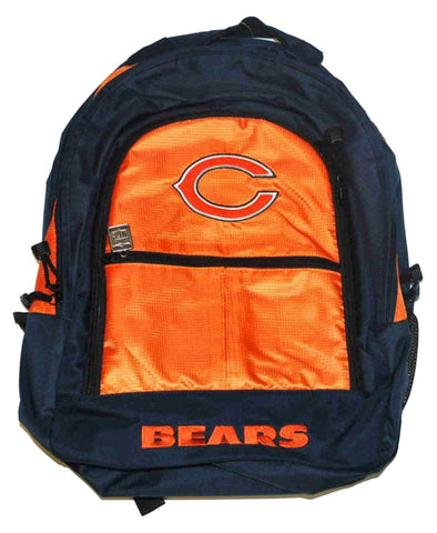 Shop Chicago Bears Jansport Orange Navy School Backpack - Sporting Up