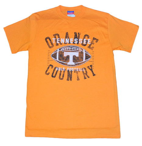 Shop Tennessee Volunteers 'Orange Country' Champion Orange Short Sleeve T-Shirt (M) - Sporting Up