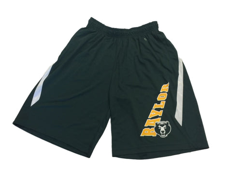Shop Baylor Bears Green Honeycomb Pattern Drawstring Athletic Shorts with Pockets (L) - Sporting Up
